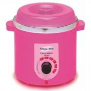 Termocera Aquecedor de Cera Junior 400g Bivolt Mega Bell - Cor Pink