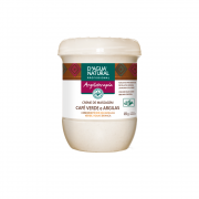 Creme De Massagem D'água Natural Café Verde e Argilas 650g