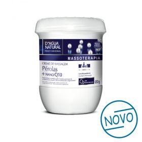 Creme de massagem Pérolas + Nano Q10 650g
