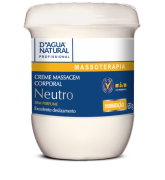 Creme Massagem Corporal Neutro 650g Dagua Natural