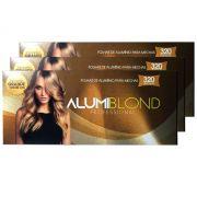 Kit 3 Caixas de Papel Alumínio para Mechas Alumiblonde - 320 Folhas - 9,5x30 320unid