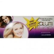 Kit com 3 caixas de Papel Alumínio para Mechas Alumi Hair - 400 Folhas - 9,5x30cm.