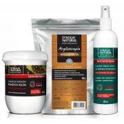 Kit Massagem Pimenta Negra, Argila Negra e Fluido TermoAtivo Dagua Natural
