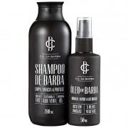 Kit Shampoo e Óleo De Barba Cia Da Barba