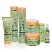 Kit Vitiss Ecoactive Argan Oil Shampoo 300ml + Condicionador 300ml + Máscara 250g + Leave-In 200ml + Sérum 30ml