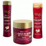 Kit Vitiss Ecoactive Monoï Tahiti Shampoo 300ml + Condicionador 300ml + Máscara 500g