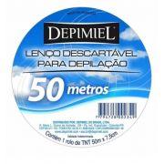 Lenços Descartáveis para Depilação Roll-on Depimiel Rolo 50mts