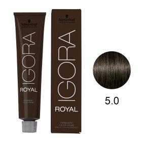 Tinta Igora Color10 60g - Cor 5.0 - Castanho Claro