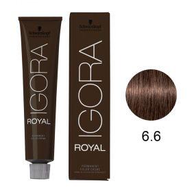 Tinta Igora Color10 60g - Cor 6.6 - Louro Escuro Marrom