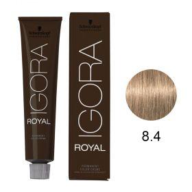 Tinta Igora Color10 60g - Cor 8.4 - Louro Claro Bege