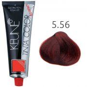 Tinta Keune Color Red Infinity 60ml - Cor 5.56 - Castanho Claro Mogno Intenso