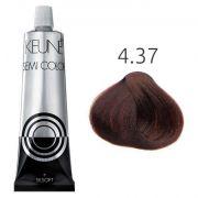 Tinta Keune Semi Color 60ml - Cor 4.37 - Castanho Médio Expresso