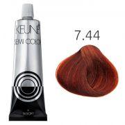 Tinta Keune Semi Color 60ml - Cor 7.44 - Louro Médio Cobre Intenso