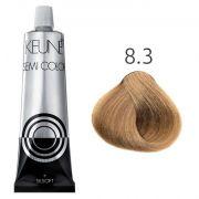 Tinta Keune Semi Color 60ml - Cor 8.3 - Louro Claro Dourado