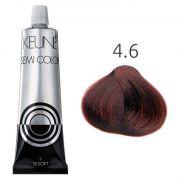 Tinta Keune Semi Color Red Booster 60ml - Cor 4.6 - Castanho Médio Vermelho
