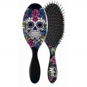 Escova de cabelo Wet Brush Pro - Caveira Roxa