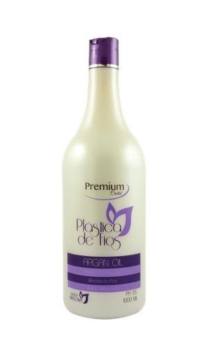 Plastica De Fios Argan Oil Premium Cristal Liz up - 1l