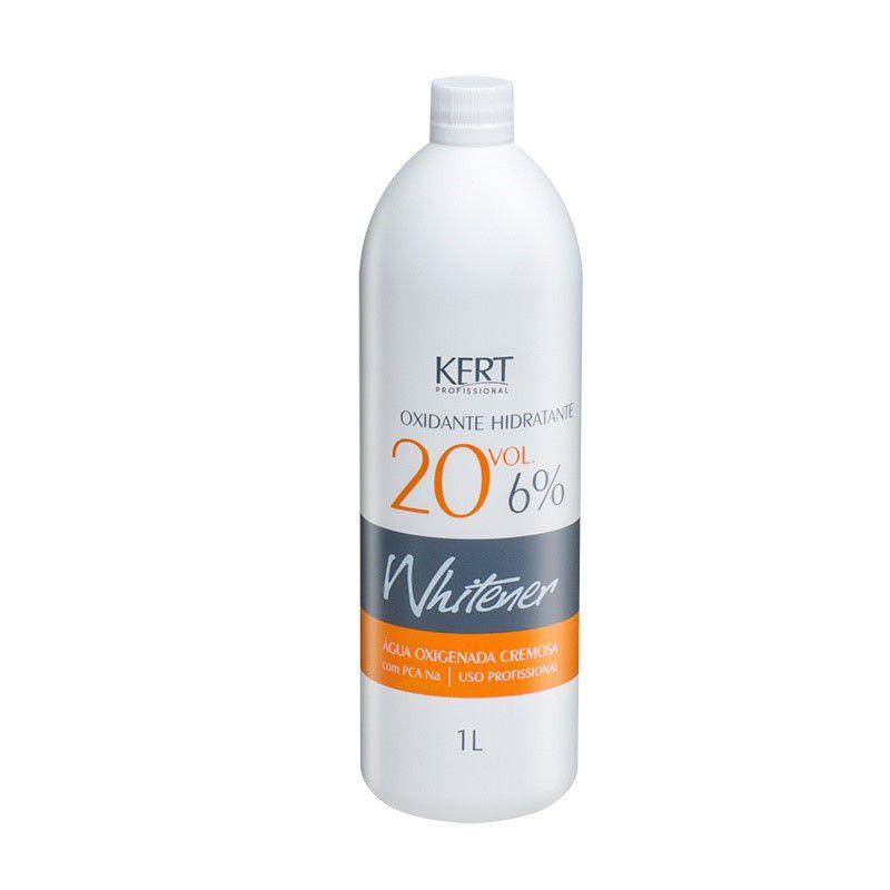 Água Oxigenada Whitener - 20 Vol - 6% - 1000ml