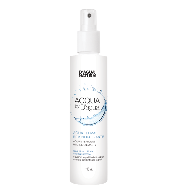 Água Termal Remineralizante 190ml Dagua Natural