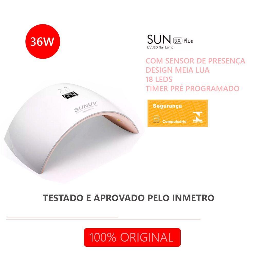Cabine UV LED Sun 9X PLUS 36W Original SUNUV