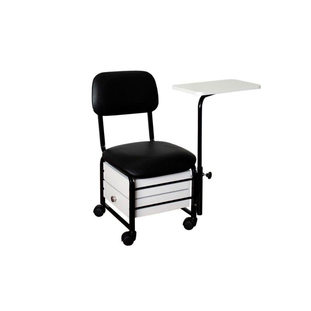 Cadeira Cirandinha Firenze - 2 Gavetas E Mesa Nv Móveis