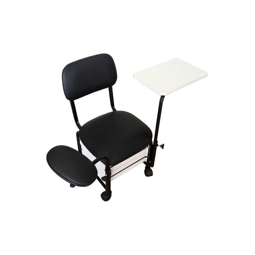 Cadeira Cirandinha Firenze - 2 gavetas, mesa e suporte para pés