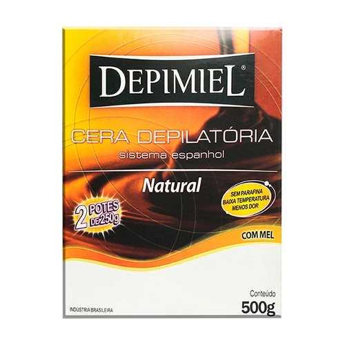 Cera Depilatória Depimiel 500g Clássica Mel