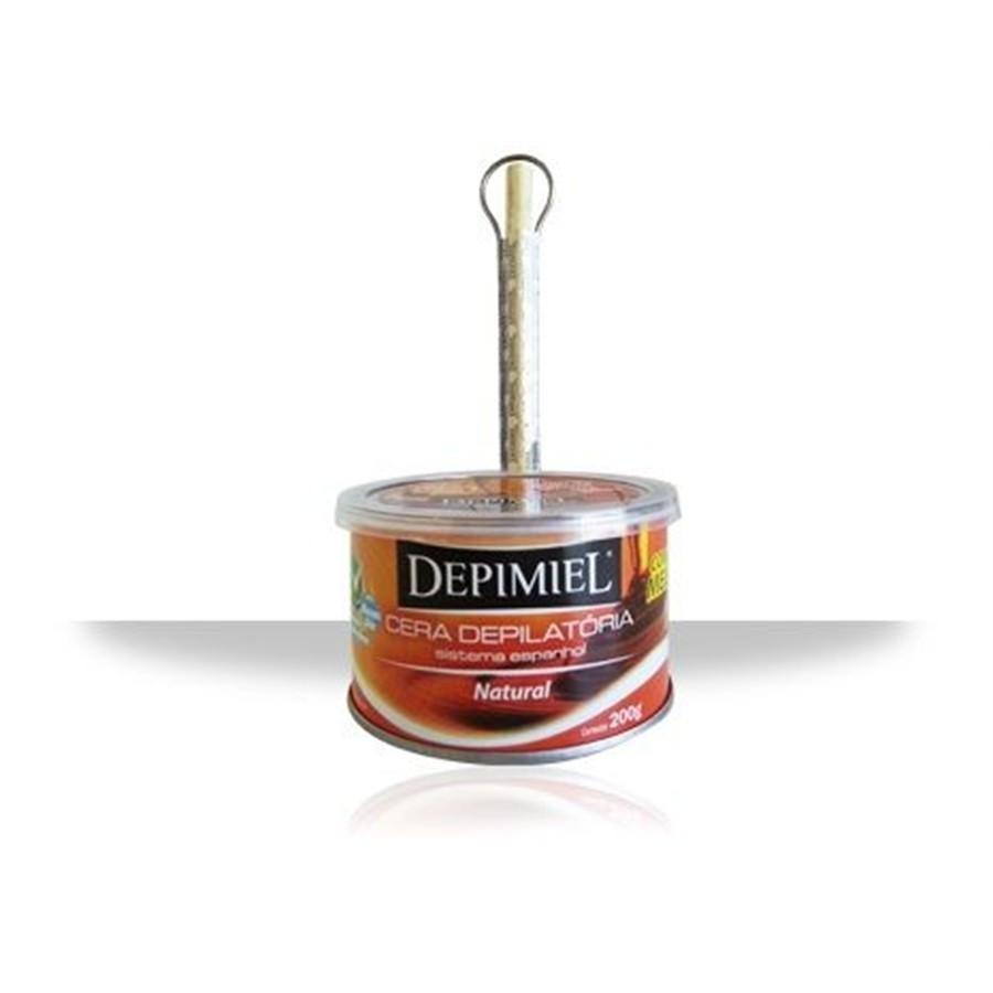 Cera Depilatória Lata Depimiel Classica Mel 200g