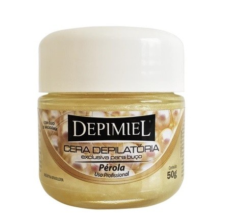 Cera Depilatória Depimiel 50g Fria Pérola