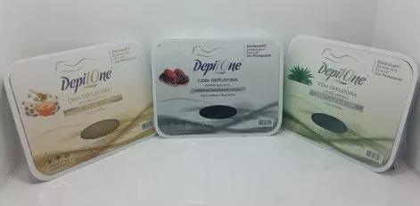 Cera Depilatória Natural com Mel e Camomila Depil One 500g