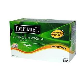 Cera Depilatória Depimiel 1kg Vegetal