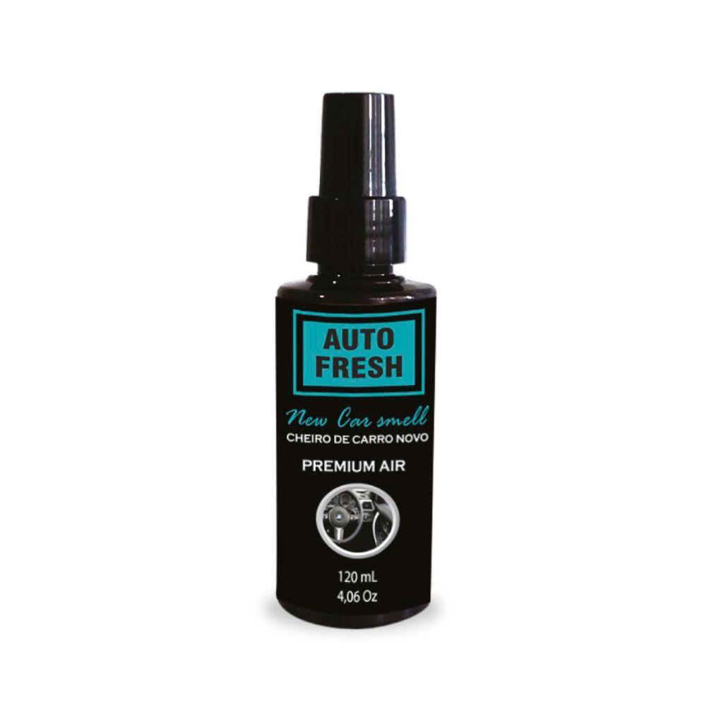 Cheiro de Carro Novo - Auto Fresh - 120 ml Casa Qualy