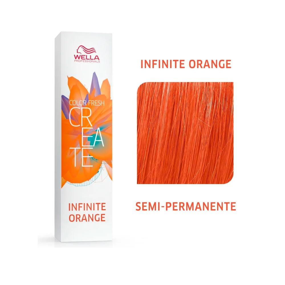 Coloração Wella Color Fresh Creator - Infinity Orange 60g