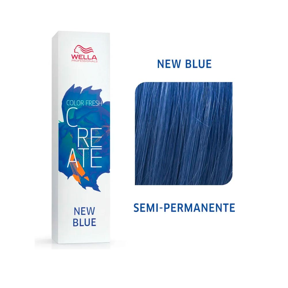 Coloração Wella Color Fresh Creator - New Blue 60g