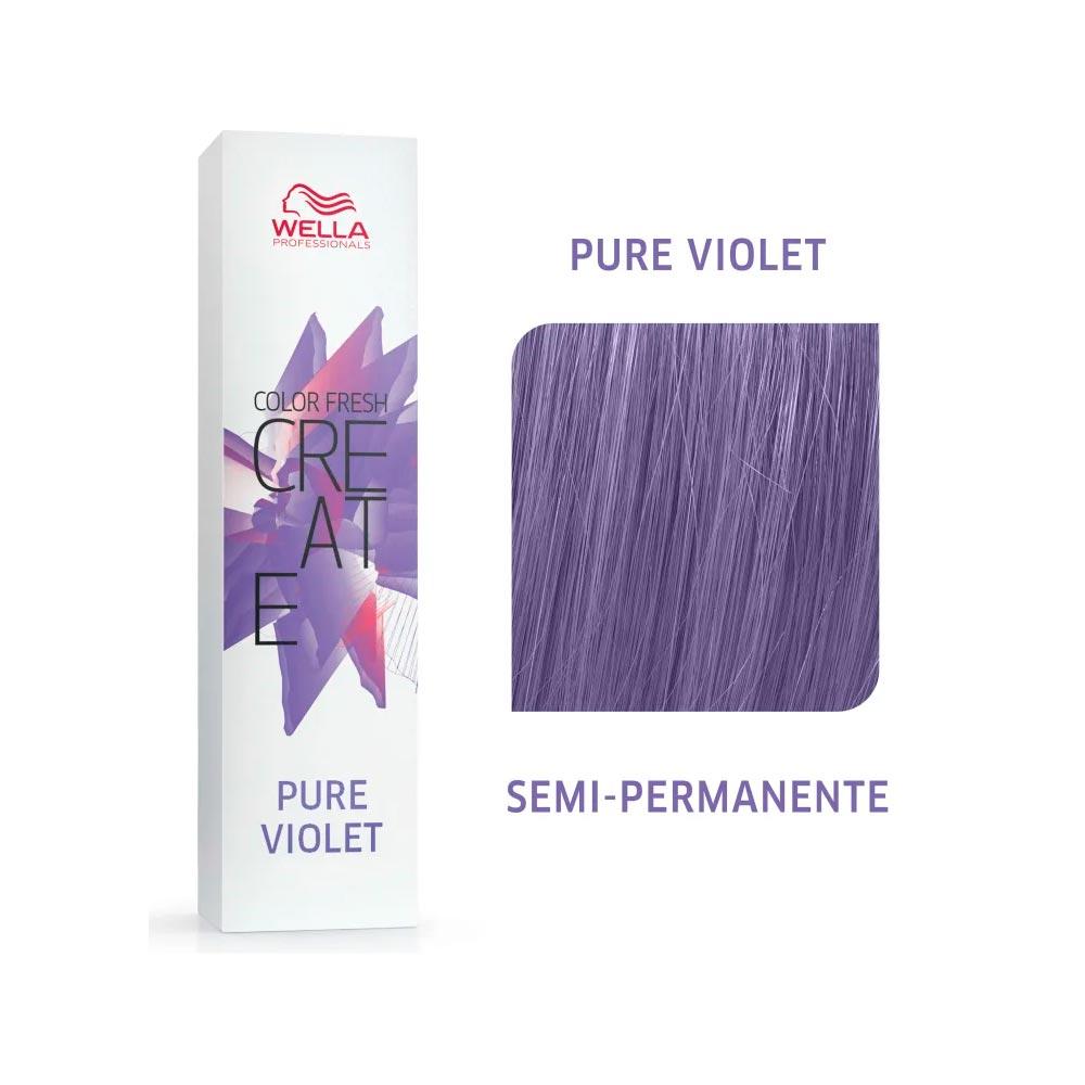 Coloração Wella Color Fresh Creator - Pure Violet 60g
