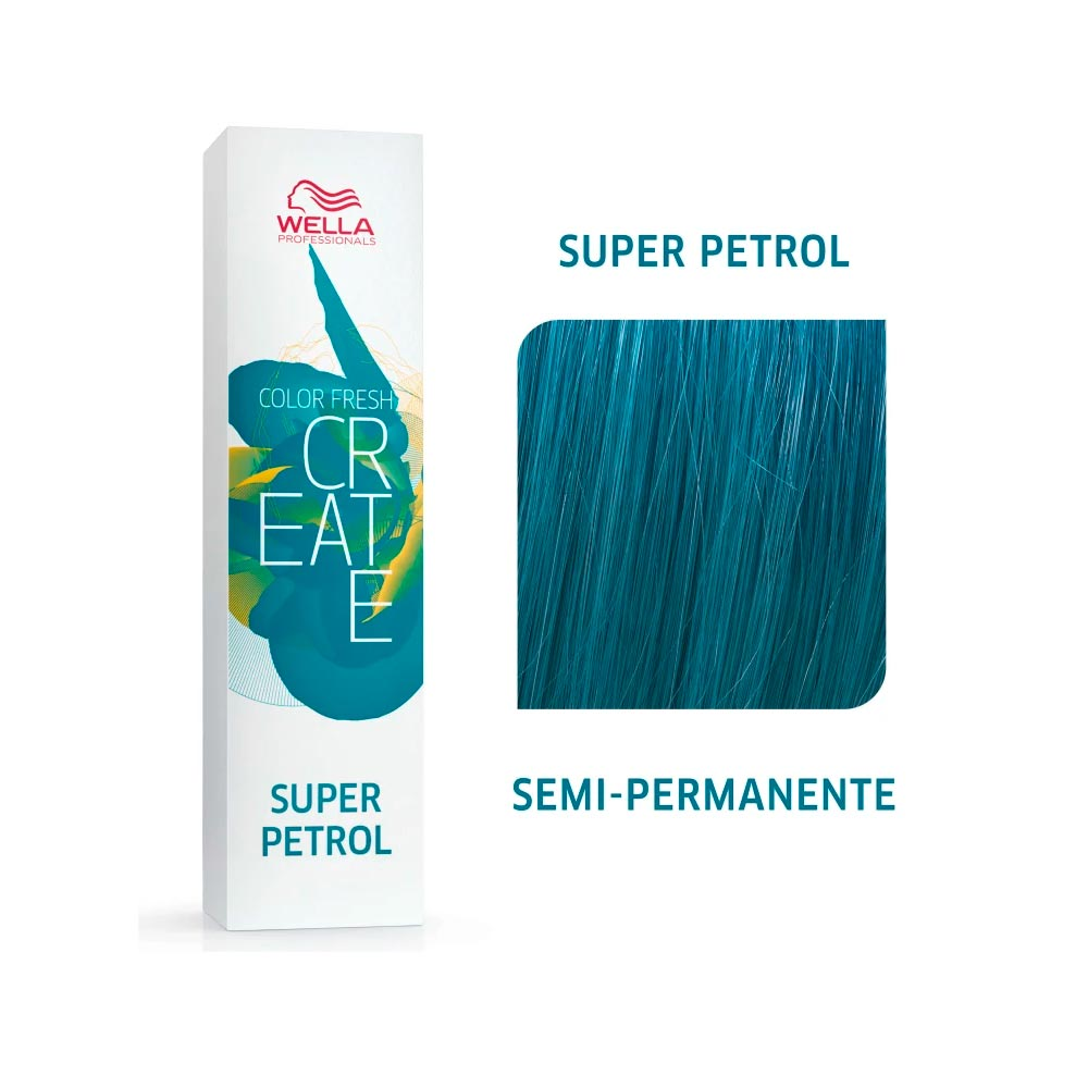 Coloração Wella Color Fresh Creator - Super Petrol 60g