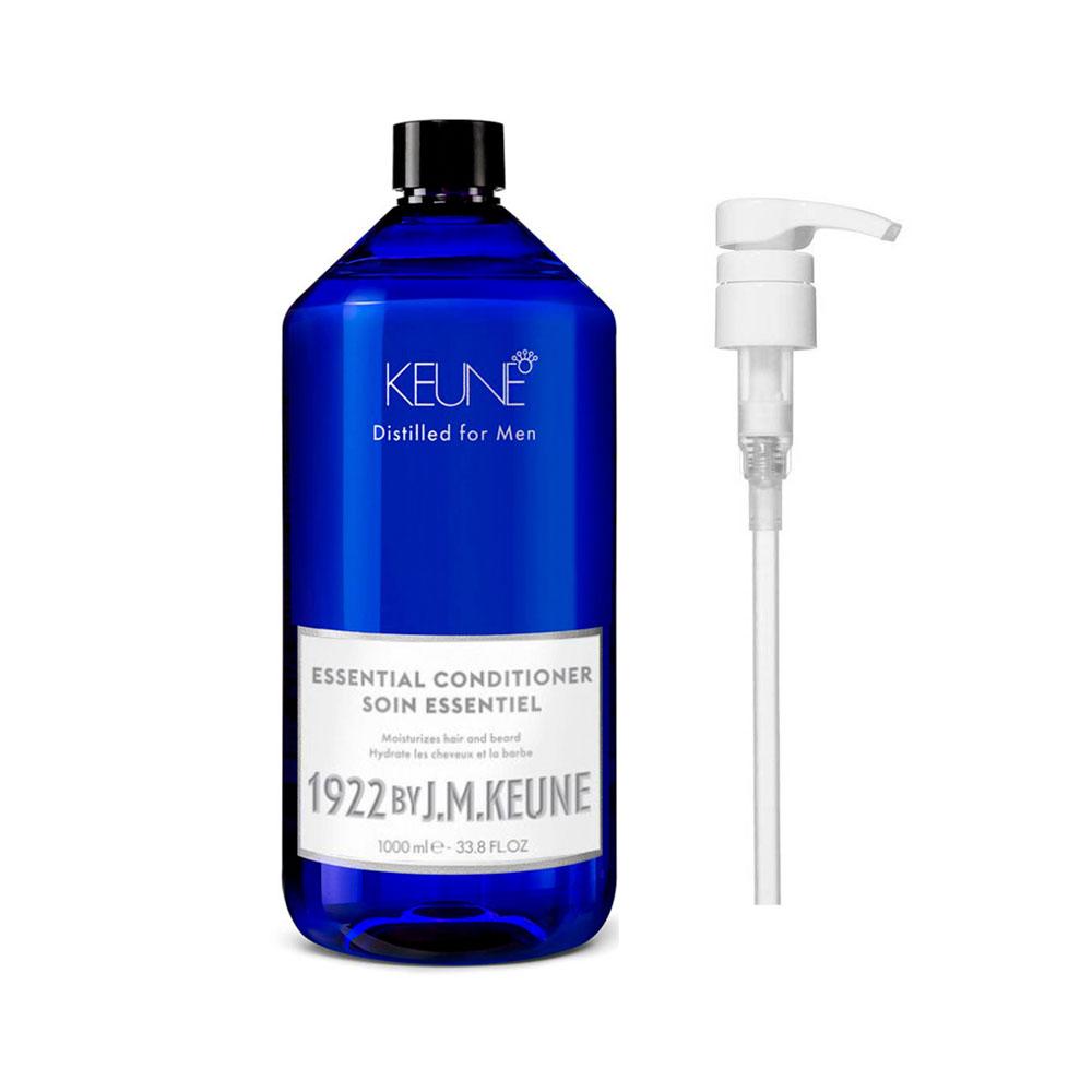 Condicionador Essential 1000ml 1922 J.M Keune + Brinde Pump