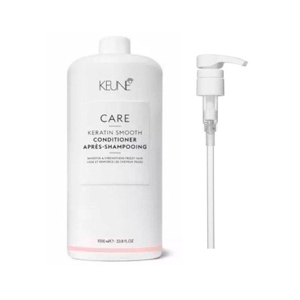 Condicionador Keune Keratin Smooth 1000ml + Brinde Pump