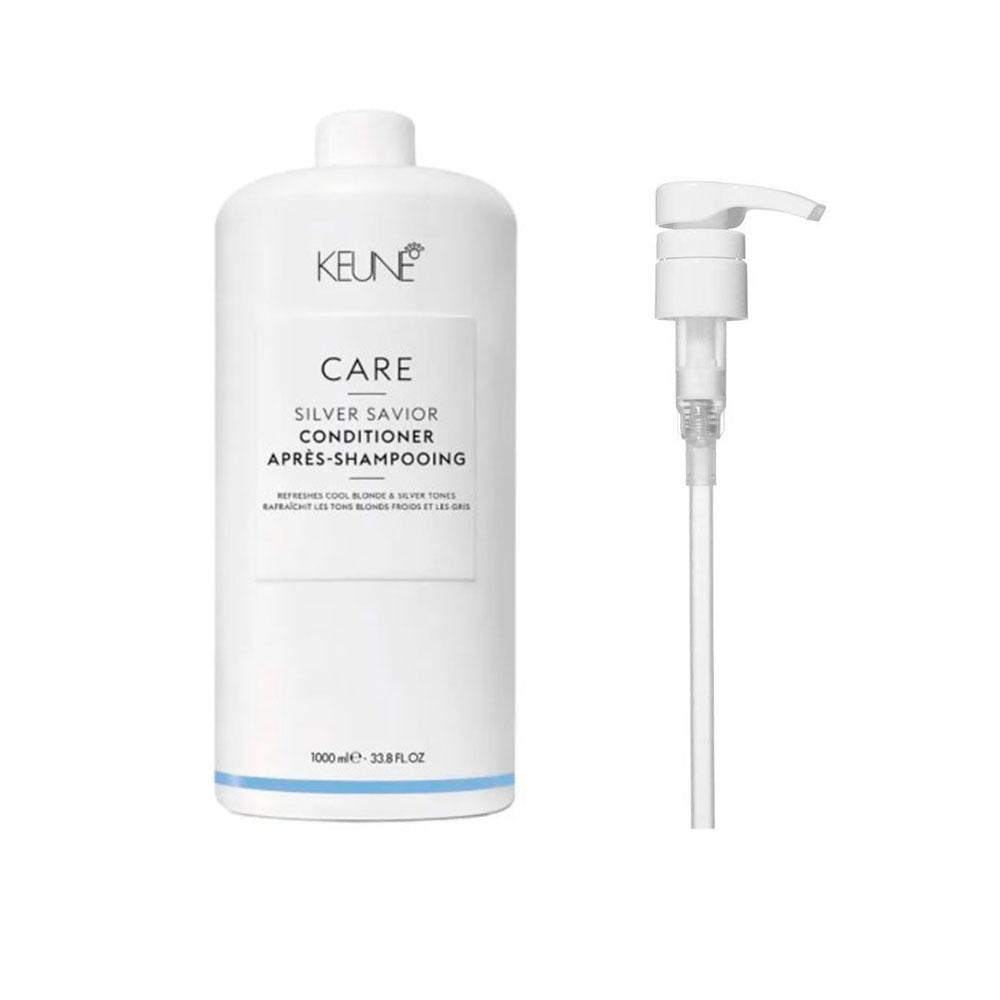 Condicionador Keune Silver Savior 1000ml + Brinde Pump