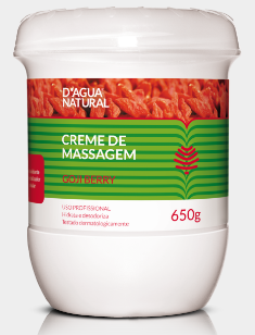 Creme De Massagem Corporal Goji Berry 650g Dágua Natural