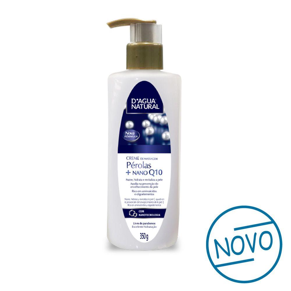 Creme de massagem Pérolas + Nano Q10 350g