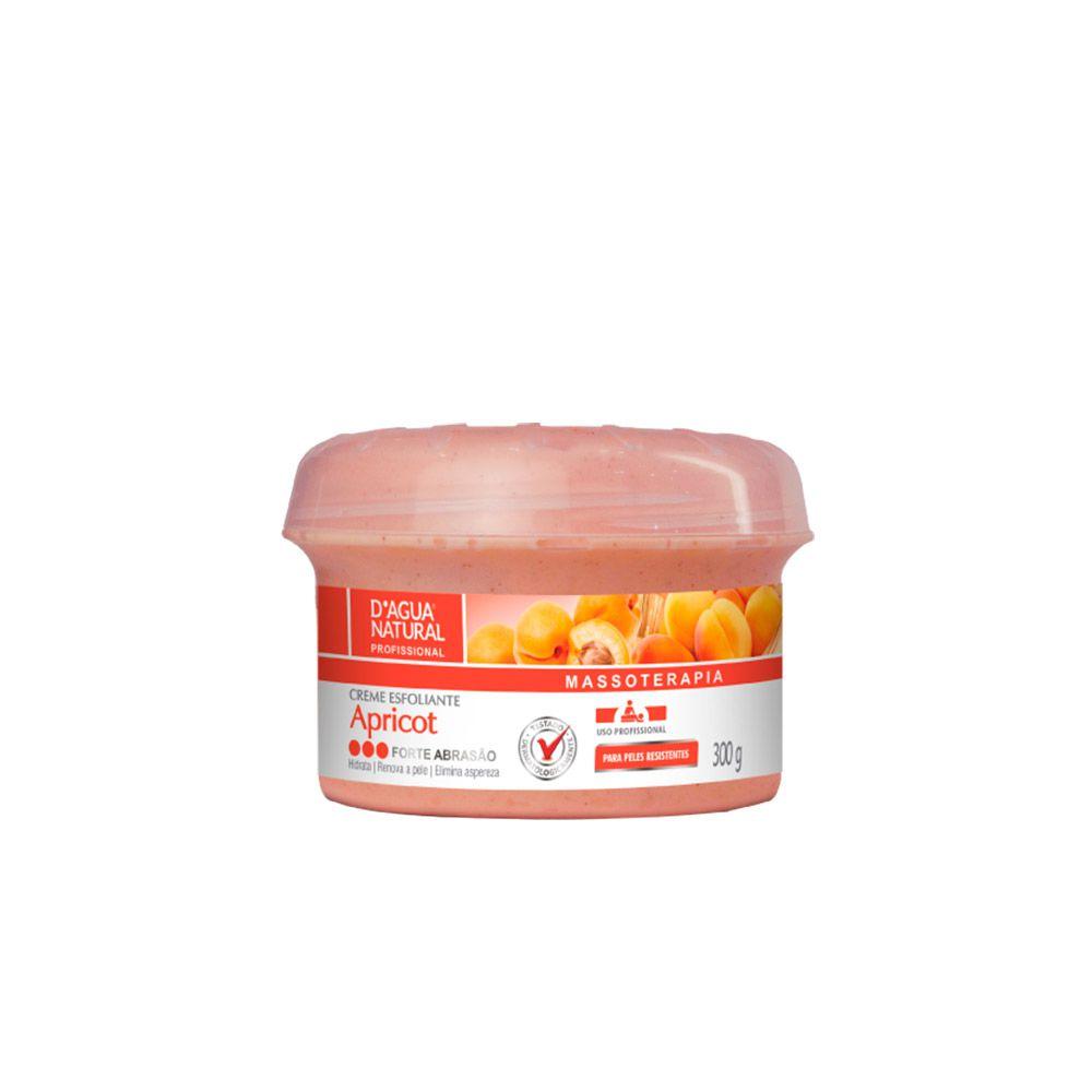 Creme Esfoliante Apricot Forte Abrasão  300g - Dagua Natural