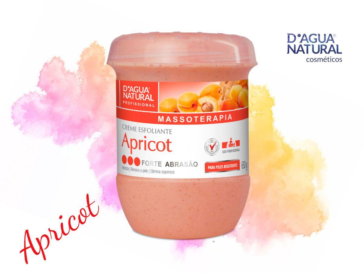 Creme Esfoliante Apricot Forte Abrasão 650g - Dagua Natural