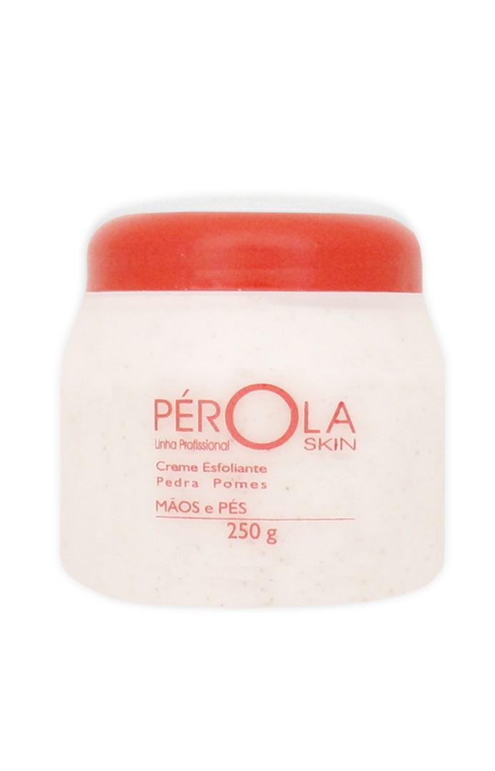 Creme Esfoliante Pedra Pomes Pérola 250g
