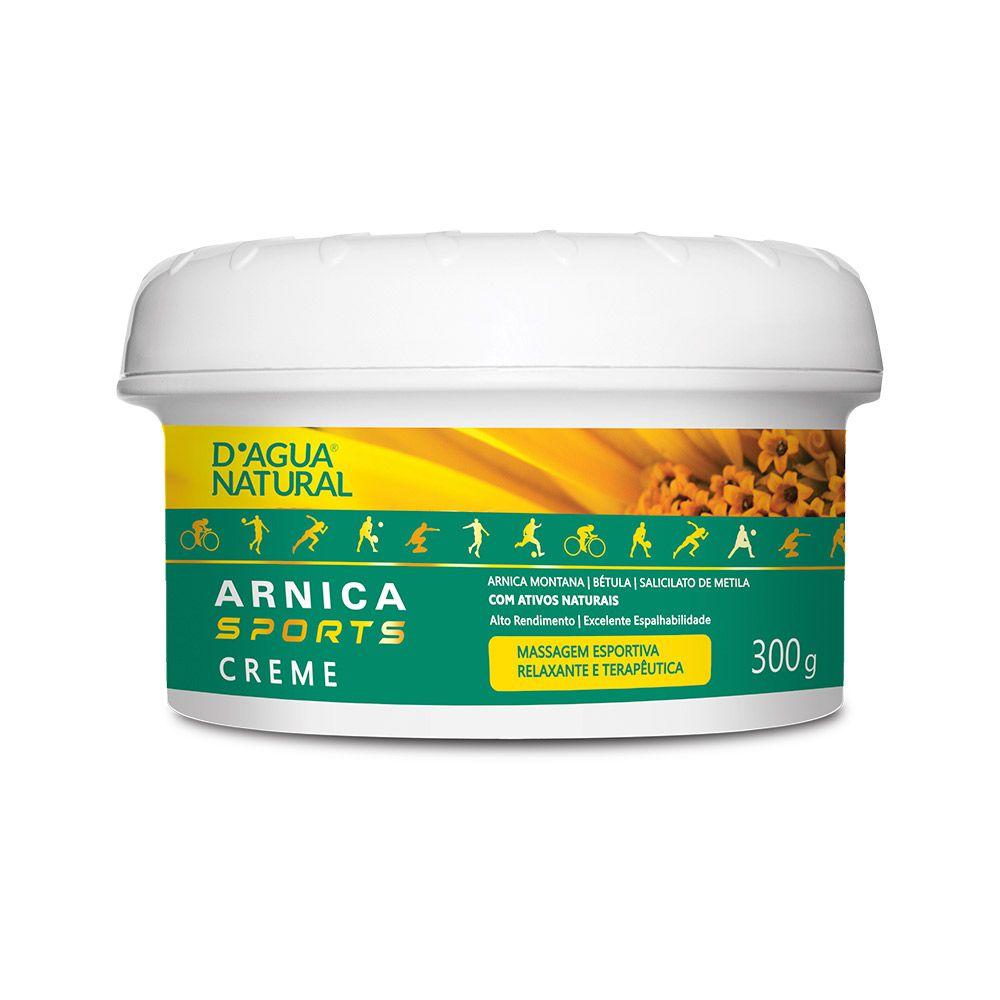 Creme Massagem Desportiva Arnica Sports  300g Dagua Natural