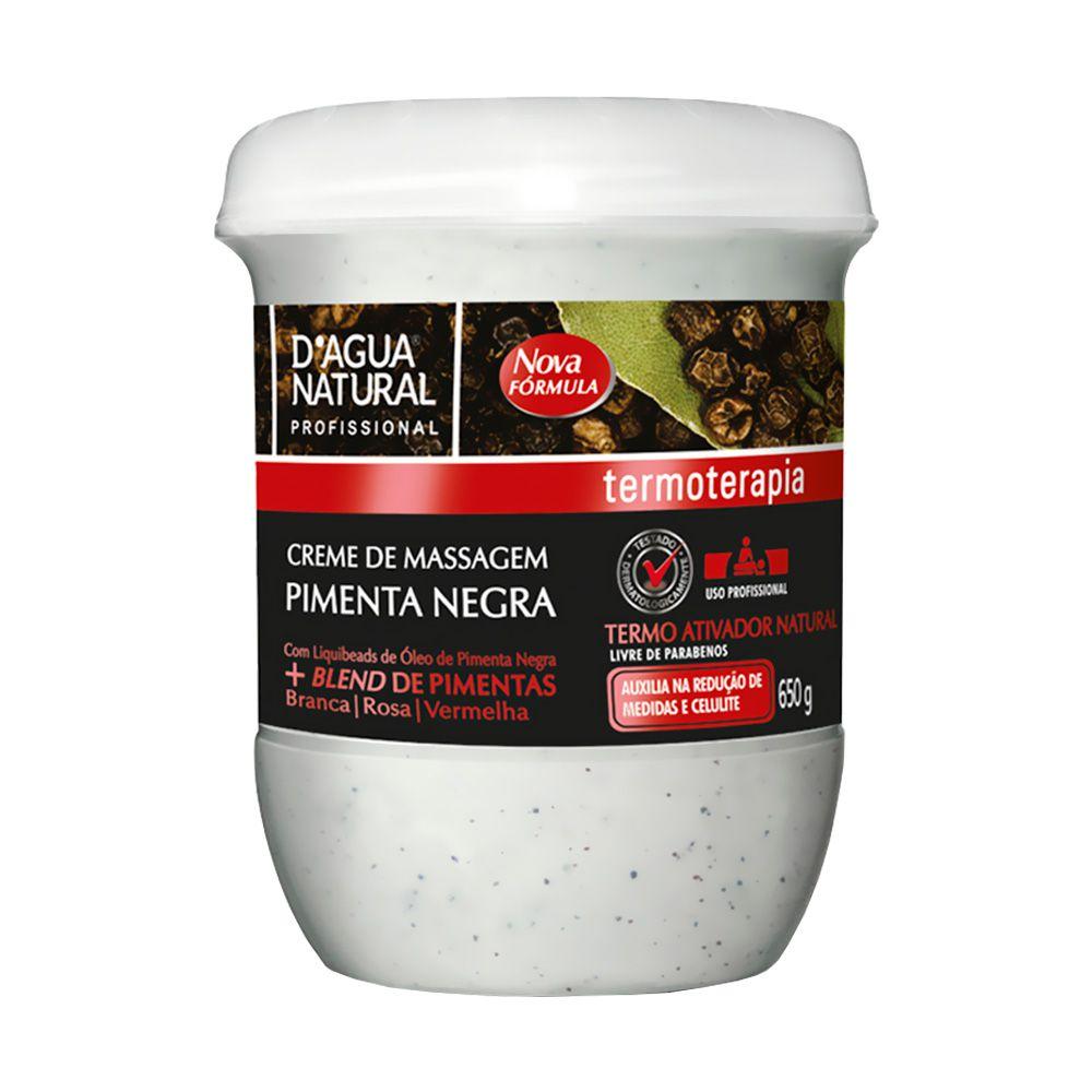Creme Pimenta Negra + Fluido Termo Ativo Dagua Natural