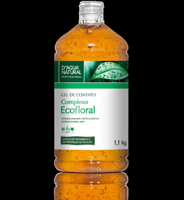 Gel De Contato Ecofloral 1,1kg Dagua Natural