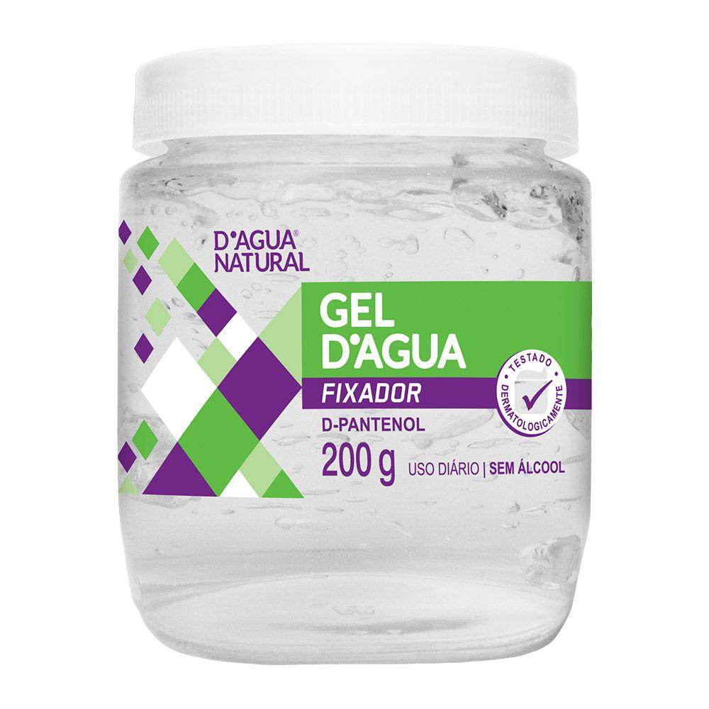 Gel Fixador D'agua 200g D'agua Natural