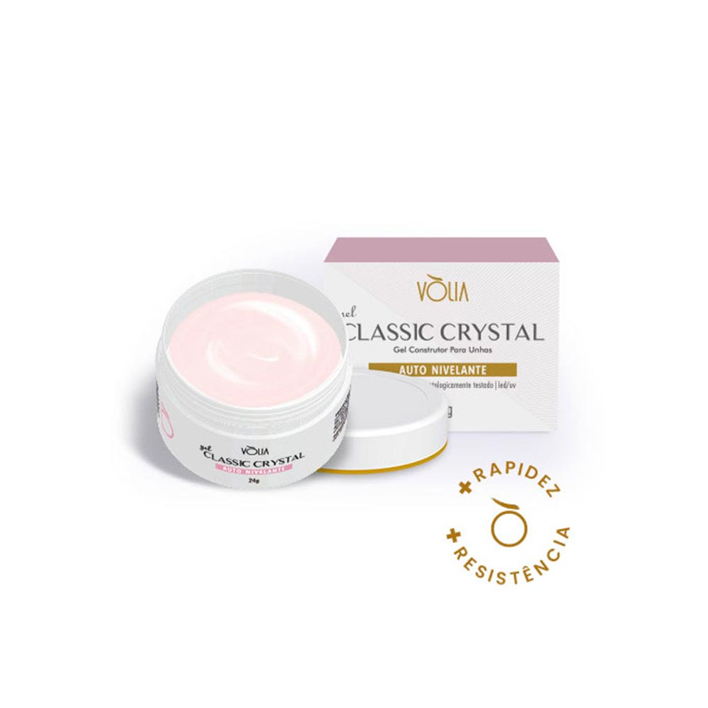 Gel Para Unhas Vòlia Classic Crystal 24g