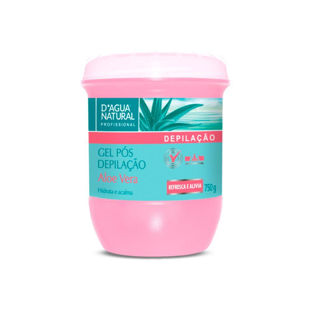Gel Pós Depilação Aloe Vera 750g Dagua Natural